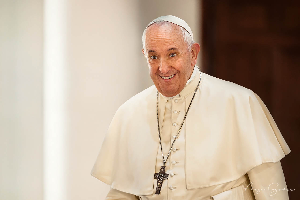 Pope Francis, 22nd November 2019,Post Production: www.MichaelMuecke.com
